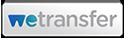 Het logo van WeTransfer